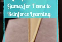 Games-Learn, Teach, Play! (tweens-teens) / Games for tweens and teenagers to reinforce learning. Reviews, games and more!