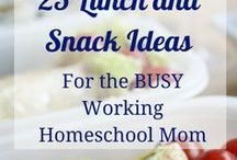 Lunch Ideas + Snacks for Kids