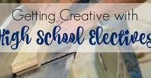High School Homeschool Help / Homeschool resources for high school students. Great ideas and support for parents and teens alike.