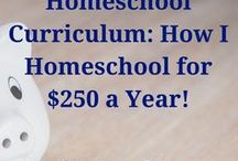 Homeschool Money Saving Tips! / Free, Frugal, Saving money tips and resources for the homeschool home!