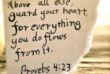 quotes & scriptures / by Britt Filipski