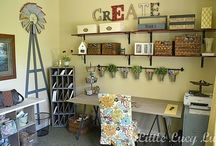 Rooms to Create In / by Dawn C