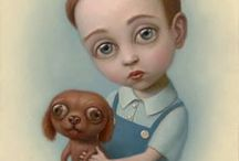 EDGY CUTE / My favorite pop surrealism, low brow & superflat paintings / by Madame Chacha