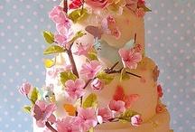 """Let Them Eat Cake!"" Wedding Cake That Is! / by Bridal Elegance"