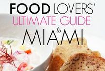 """Food Guide """"Miami"""" / Our Food Lover's Ultimate Guide To Miami is a comprehensive list of foods typically found on the streets of Miami. Along with the descriptions of the food, we have added small tips on how locals prefer to eat the dish and where you can find the best versions of them. We include restaurant names and locations."""