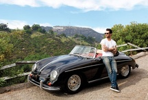 Celebrities with Porsche