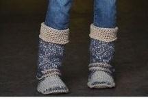 Crochet Slippers / by Michelle Sherrill
