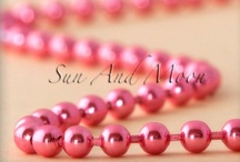 Colored Ball Chain Necklaces / Colored Ball Chain Necklaces from Sun And Moon Craft Kits Website ( http://www.sunandmooncraftkits.com ) / by Sun And Moon Craft Kits