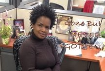 NATURAL HAIR CARE / It Takes A Confident Woman To Go NATURAL.... / by Jeanette Green