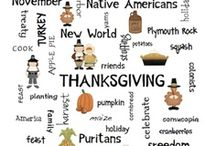 Speech Therapy: Thanksgiving / by Mindy Sweat