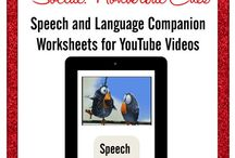 Speech Therapy: YouTube, Apps, blogs, and plugged-in resources! / by Mindy Sweat