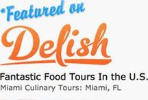 Media I Blogs I Press / Our culinary tours covered by local, national and international media as well as bloggers.