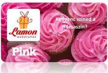 Pink / Ha Péntek, akkor Pink (Azt mondják, a rózsaszín hűsít) http://www.ajandek.shop.hu/