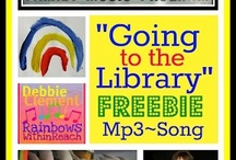 "Going to the Library (Song) / ""I like going to the library, oh yeah. I like going to the library, oh yeah. I like going to the library --  it's a great place, come and see. I like going to the library, oh yeah!!"""