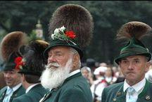 German, Austrian & Swiss folk costumes (Trachten) / by Catherine Grimm