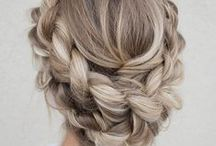 Creative Updos, Lowdos, Braids & Ponytails / Beautiful hairstyles and inspiration for updos, lowdos, braids and ponytails. Fancy pants to casual styles.