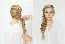 Hair How-To / Step by step instructions for creating beautiful hairstyles. Updos, curls, braids and more!