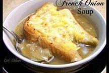 Soups / Click on the picture - And then the 'Found on Facebook' link (under the picture) to get the full recipe. / by Tami Pearson Campbell
