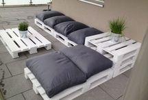 Palet Furniture #DIY / Ideas for DIY palet furniture