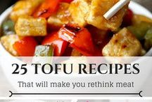 Healthy Tofu Recipes (For Beginner Too) / This is a board with healthy and easy tofu recipes, tasty vegan tofu recipes. There is so much you can make with tofu - yummy tofu scramble, creamy tofu dressing, tofu desserts, tofu everything!