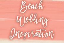 Theme: Beach | Wedding Inspiration / Wedding inspiration for your beach themed wedding or destination wedding. Feel the waves lapping at your feet as you enjoy your perfect ocean front beach wedding ceremony.