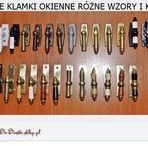 Klamki mosiężne - brass door handles / Klamki mosiężne polskiego rękodzieła