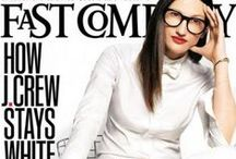 "Jenna Lyons for J.Crew / ""Jenna, le féminin masculin par excellence """