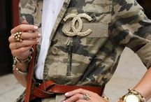 Military Jacket / Tenue Chic, Veste Choc...