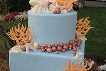 Beach-Themed Wedding Cakes | Sweet Art | Orange County
