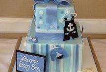Baby Shower Cakes & Gourmet Desserts | Orange County, CA / Baby shower cake ideas by Sweet-Art!