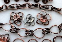 Jewelry: Wire / Beautiful examples of wire jewelry.