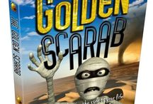 The Golden Scarab / Reviews news and bits about book 1 from The Quest Series.