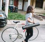 Bike style.