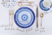Table Setting / Table setting ideas for the women's luncheon.  / by Amanda Rosendahl