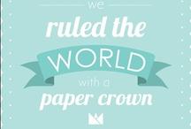 Papierliebe / Tolle Sachen aus Papier