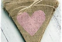 Vintage Heart Decorations