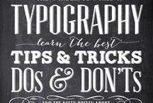 Typo, Handlettering & Fonts / Typo, Handlettering & Fonts