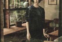 VELVET / Shift dresses, easy tees and simple pull-on skirts in fluid, all in lustrous silk velvet.