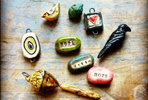 Handmade Beads / Handmade beads, buttons, pendants, cabs for your next art jewelry project.