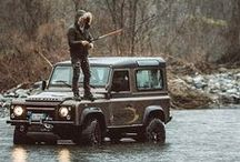 Land Rover & Range Rover / All thing Land Rover and Range Rover, but Series, Defender and the Classic stuff only. We got to draw that line somewhere.  / by Bruno De Regge