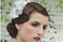 1920s Vintage Bridal Hair and Makeup Photo Shoot
