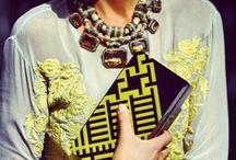 fashionable details.