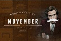 Mustaches for Movember / by Deborah Enos