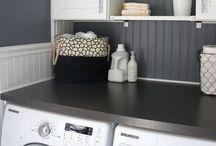 Laundry in style / Laundry room ideas / by Heidi Hofmeyer Grant