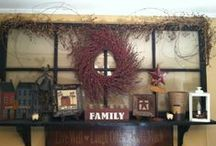 Primative/country decor