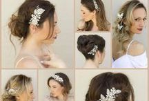 Bridal Hair Combs & Clips by Hair Comes the Bride / A selection of designer bridal hair combs and clips by Hair Comes the Bride.