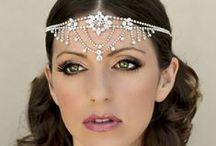 Fall 2015 Bridal Hair Accessory Collection / Hair Comes the Bride's Fall Collection of Bridal Hair Accessories including bridal hair combs, bridal headbands and hair flowers.