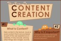 Content Creation Tips / Content creation and content marketing are two of the most important things you can do to increase the visibility of you and your business online and off.