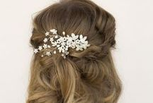 Spring 2015 Bridal Hair Accessory Collection / Spring 2015 Bridal Hair Accessory and Jewelry Collection from Hair Comes the Bride.  www.HairComestheBride.com