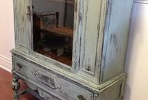 Painted Furniture and Decor / Chalk Paint, other paints and stains / by Sandra Cosby